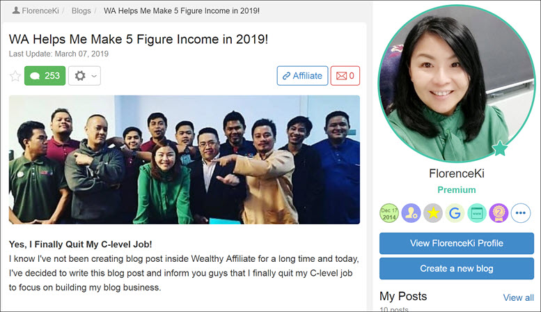 How I Make 5 Figure Income From Wealthy Affiliate